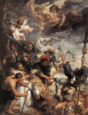 De marteling en dood van Livinus - Peter Paul Rubens