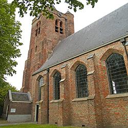 De monumentale kerk van Baarland