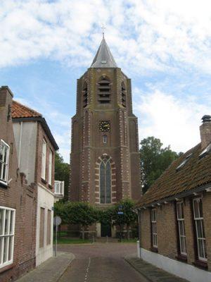 De nieuwe toren van Nieuwerkerk