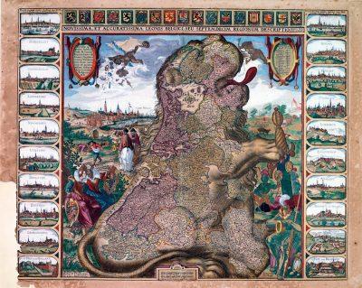De oorspronkelijke Spaanse Nederlanden