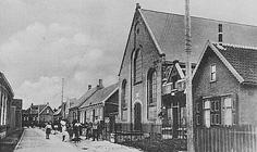 De oude kerk voor het bombardement
