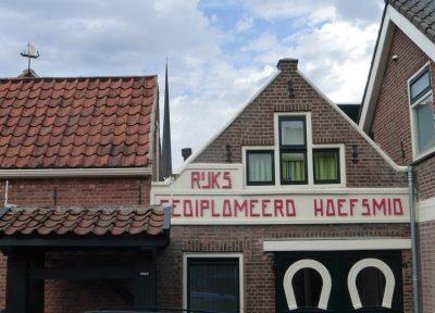 De oude smidse van Nieuwerkerk
