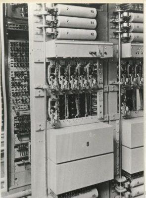 De oude telefooncentrale