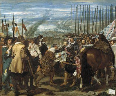 De overgave van Breda. (Diego Velázquez, 1634)