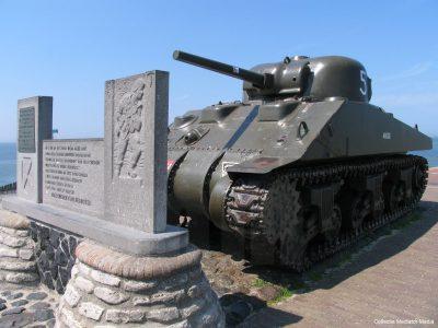 De overgebleven Shermantank