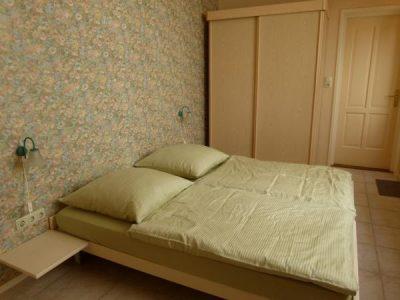 De rustige slaapkamer