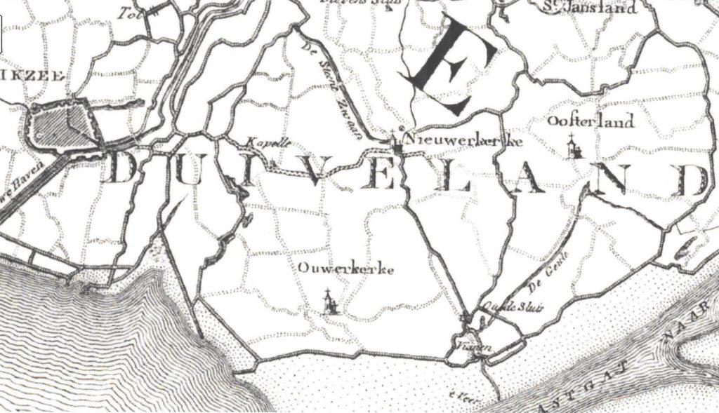 De situatie aan het begin van de 19de eeuw