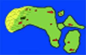 De situatie omstreeks 1200