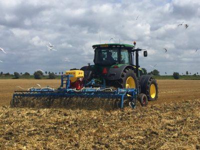 De spuitmachine, verantwoord boeren