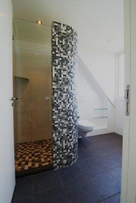 De uiterst praktische badkamer