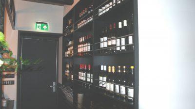 De uitgebreide en zeer gevarieerde wijncollectie