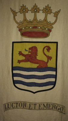 De vlag van het Bataljon Zeeland