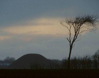 De vliedberg aan de Meinesweg - Foto Jaap Woltersbeek