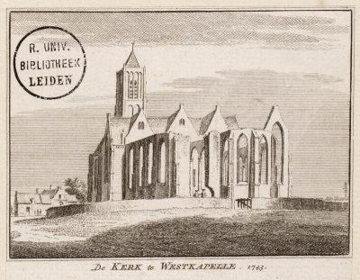 De voormalige kerk van Westkapelle
