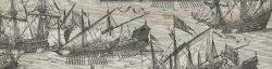 De zee bij Schouwen tijdens de tachtigjarige Oorlog