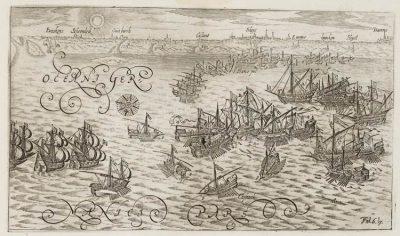 De zeeslag bij Sluis
