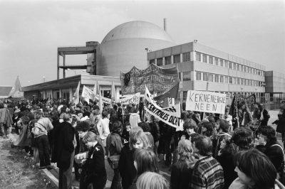 Demonstratie bij Borssele 1974 - Foto Rob Croes