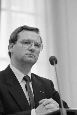 Dick Dees als staatssecretaris