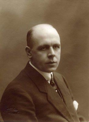 Dirk Witte in 1918