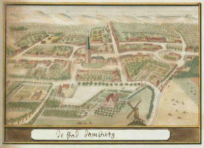 Domburg omstreeks 1600