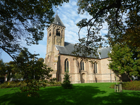 Driekoningenkerk – spil van het dorp