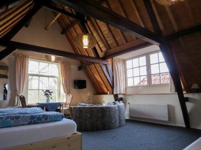 Een van de prachtige slaapkamers