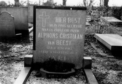 Een verzakt graf