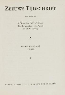 Eerste uitgave