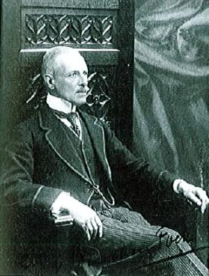 Emile Von Brucken Fock op latere leeftijd in Aerdenhout