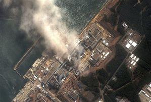 Explosie van de centrale in Fukushima