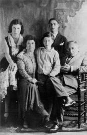 Familie Hillesum in gelukkiger tijden