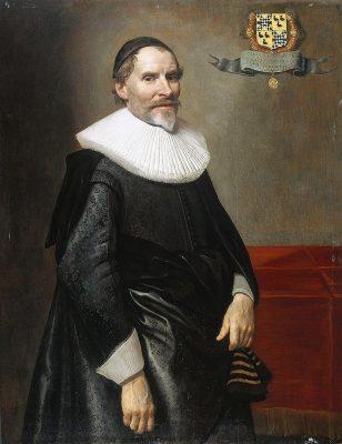 Francois van Aerssen, geschilderd door Michiel Jansz. van Mierevelt 1636