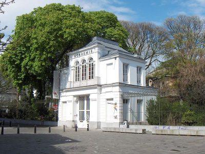 Gebouw van de Academie voor Schone Kunsten, architect Pierre Bruno Bourlah