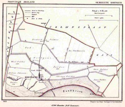 Gemeente Kortgene – omstreeks 1290