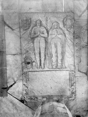 Grafzerk voor Justinus van Nassau en zijn_vrouw Anna de Merode in Leiden