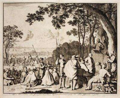 Hagenpreek uit P.C. Hooft - Nederlandse historien