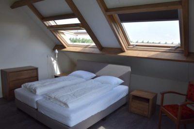 Heerlijk lichte slaapkamer