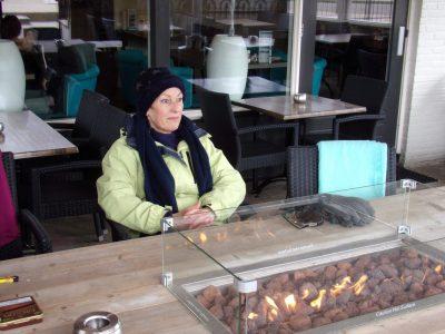 Heerlijk verwarmde terrassen