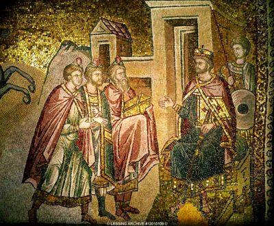 Herodes in gesprek met de Wijzen