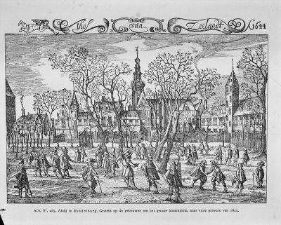 Het Hof van Zeeland in 1644 in Middelburg