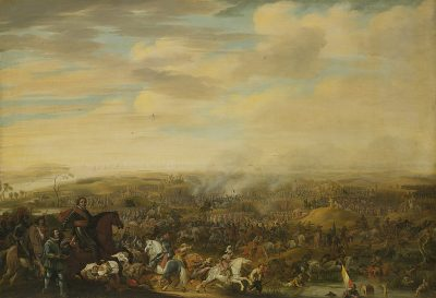Het Staatse leger tijdens de Slag bij Nieuwpoort