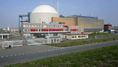 Het centralecomplex in Borssele