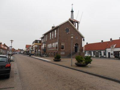 Het centrum van Westkapelle