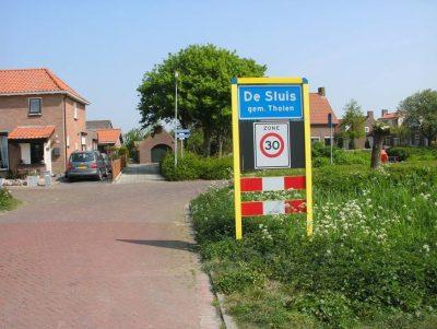 Het dorpje De Sluis