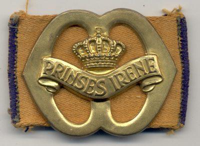 Het eerste model van het baretembleem van de Prinses Irene Brigade - 1941