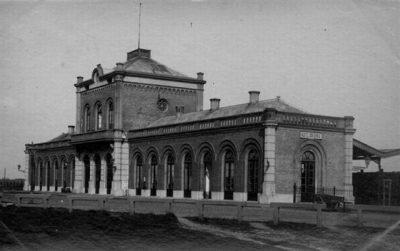 Het eerste station van Vlissingen