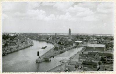 Het kanaal bij Zelzate