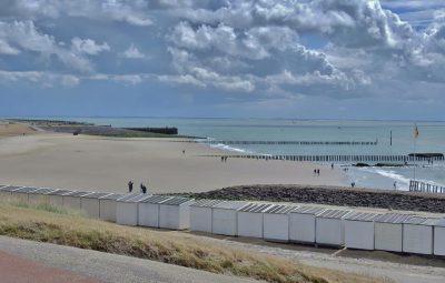 Het karakteristieke strand van Westkapelle