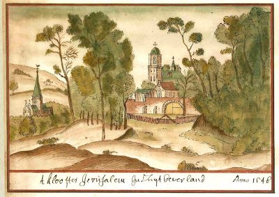 Het klooster Jeruzalem
