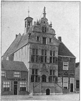 Het middeleeuwse stadhuis van Brouwershaven